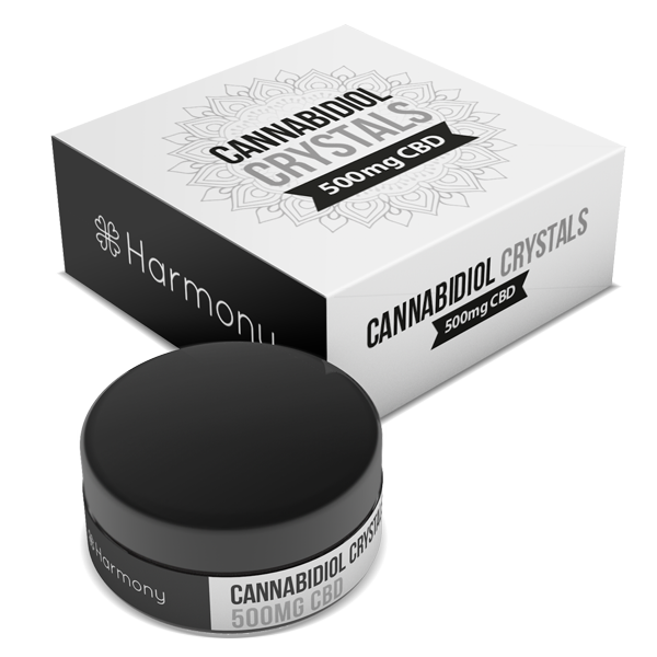 99% Pure CBD Crystals - Harmony CBD