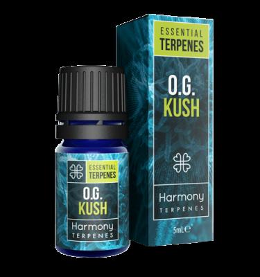 OG Kush Terpenes Cannabis Box and Bottle