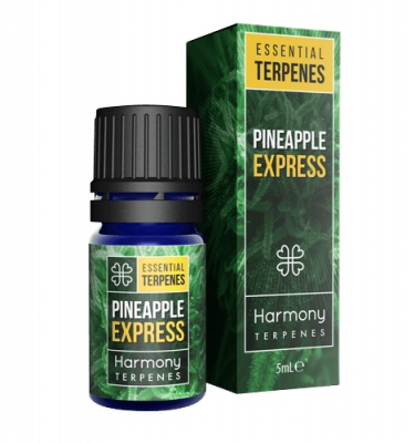 Pineapple Express Terpenes Cannabis Box and Bottle